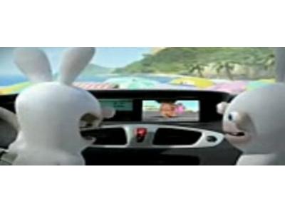 可愛搞笑又有創意的雷諾汽車廣告