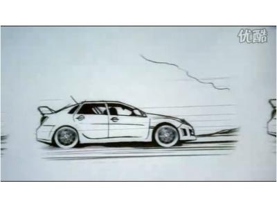 斯巴鲁汽车广告创意
