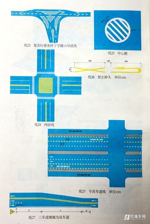 道路交通标线 - 巴渝车网