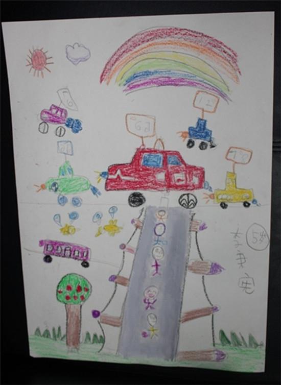 首届儿童画车大赛明天举行第二场选拔