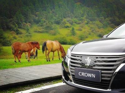 没试过皇冠,买C级车都是冲动的