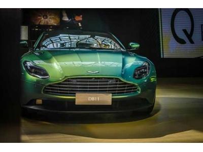 虹彩祖母綠DB11 V8 Coupe驚艷亮相
