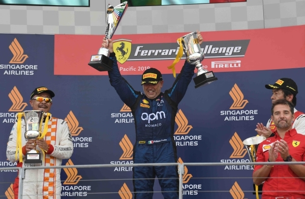 _8.Ferrari Challenge Asia-Pacific_Singapore_Race 2(Trofeo Pirelli)