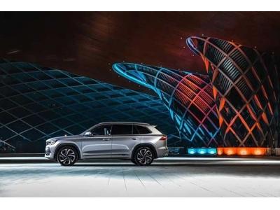 中国星旗舰SUV星越L全球上市